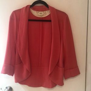Aritzia Wilfred Short Chevalier Blazer